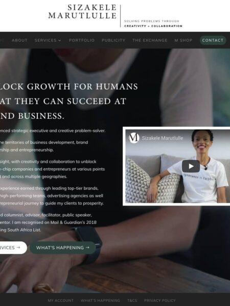 Consultant Agency Business Website Design Johannesburg4