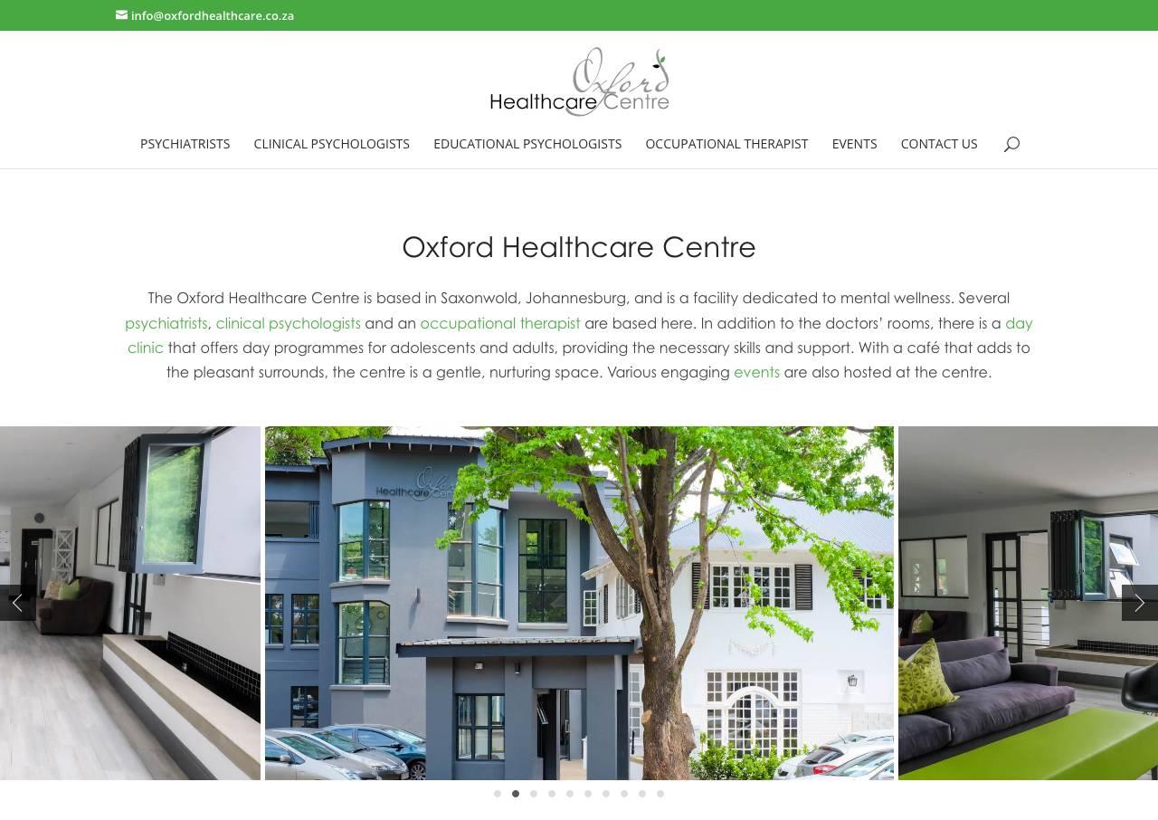 Healthcare Clinic Website