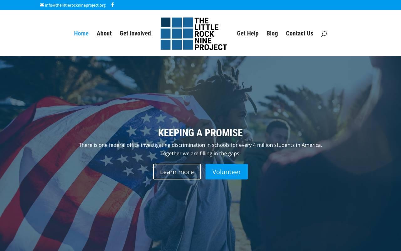 Non Profit Website Little Rock Nine