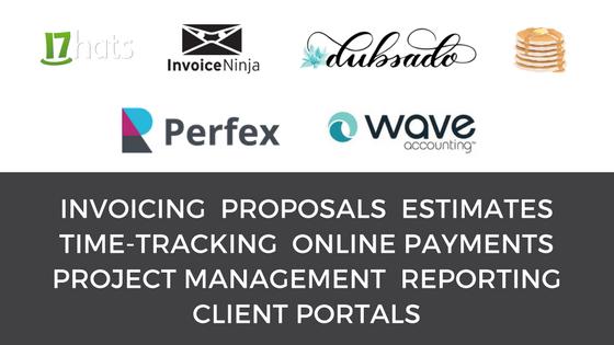 Invoicing Proposals Timetracking Estimates