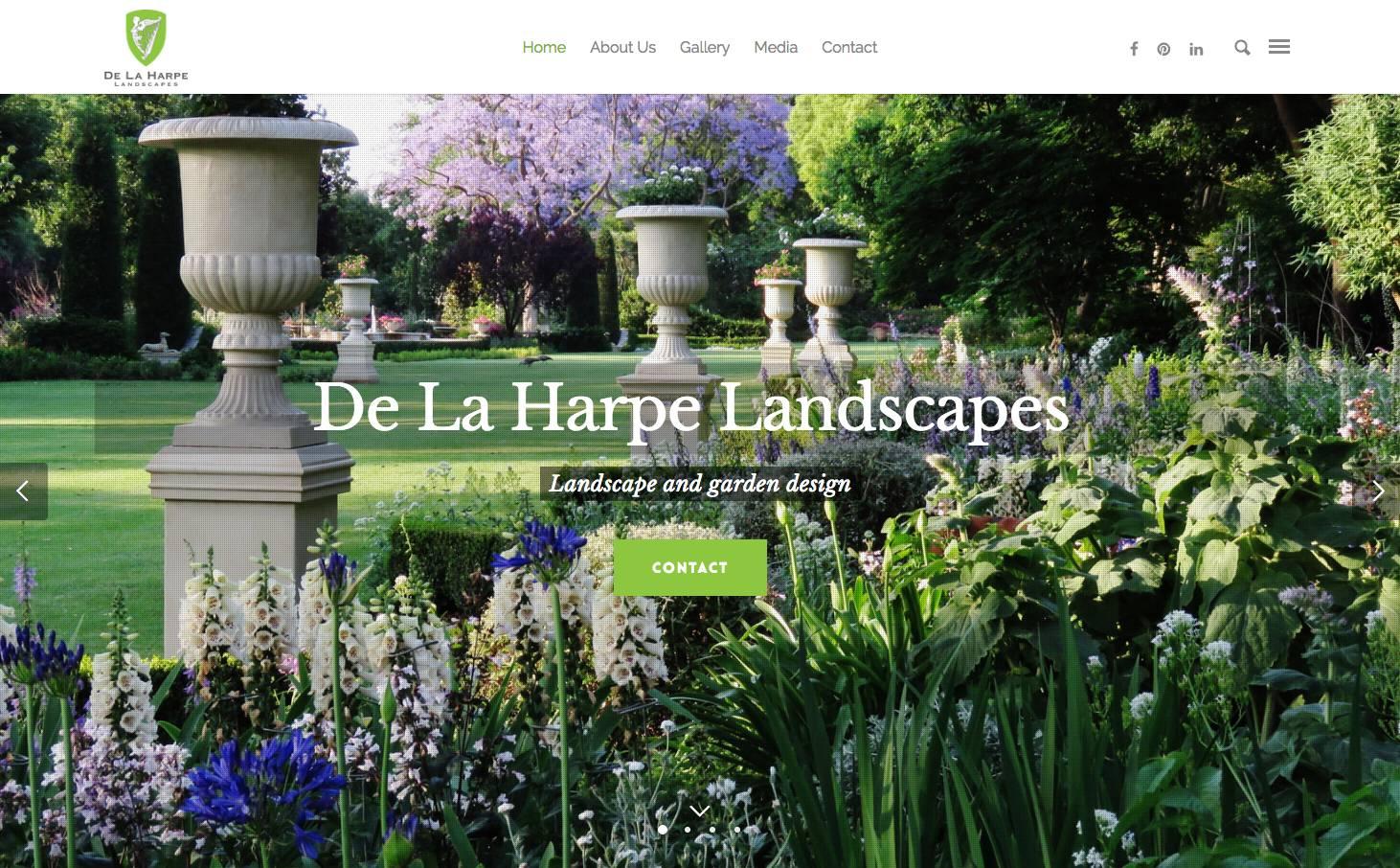Landscape and Garden Design Website