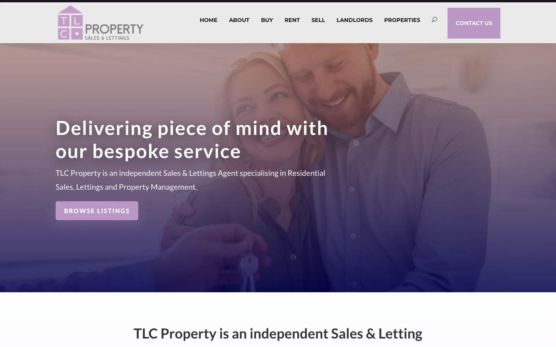 Divi Wordpress Web Design Property Site
