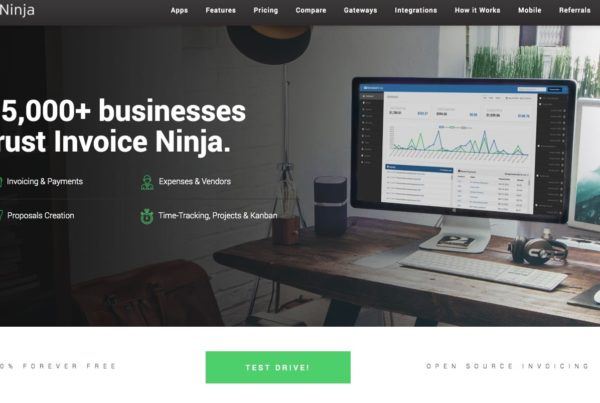 Invoice Ninja - Proposals, Quotes, Invoicing, Time-Tracking