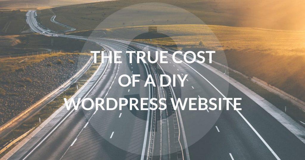 The true cost of DIY Wordpress Website